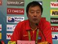 中国游泳队发布会