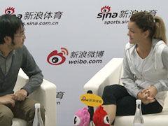 视频-新浪专访A-拉德:自信能夺大满贯 最爱朱莉
