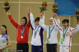 跆拳道女子46公斤黄显咏夺冠