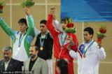男子74公斤跆伊朗选手夺魁