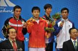 散手男子65公斤级张军勇夺冠