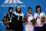 散手女子60公斤伊朗选手夺冠