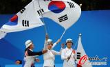 女子射箭团体韩国夺冠