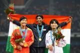 女子400米栏印度选手摘金