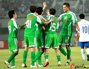 中超第4轮补赛 北京3-2广州