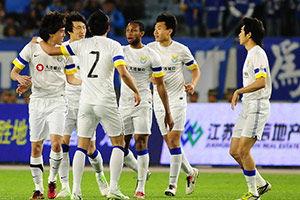 中超-李学鹏头球破门舜天主场0-1阿尔滨遭3连败