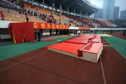 足协订制的庆典仪式设备 图片来源:@梁怿韬legendliang