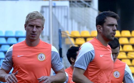 汉克(左)与米西莫维奇(资料图)