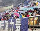 图文-[中超]天津泰达1-1上海申花 雨中独特风景
