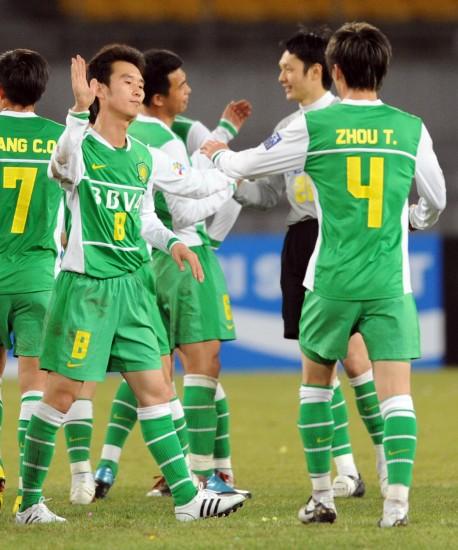 图文-[亚冠]北京国安2-0川崎前锋胜利值得忘情欢呼