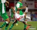 图文-[挑战赛]北京国安0-1国奥 王选宏侧划金钩