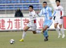 图文-[中超]长春亚泰1-1天津泰达 高健带球突破