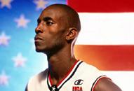 NBA老照片-第一大前为国出征狼王奥运目标只有金牌
