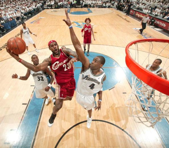 图文-[NBA]骑士100-97奇才贾米森封盖詹姆斯