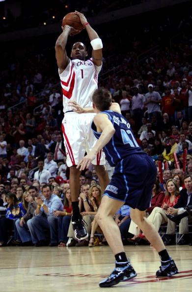 图文-[NBA]爵士69-95火箭基里连科难阻麦蒂