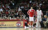 图文-[NBA常规赛]勇士vs火箭姚明拿下11个篮板