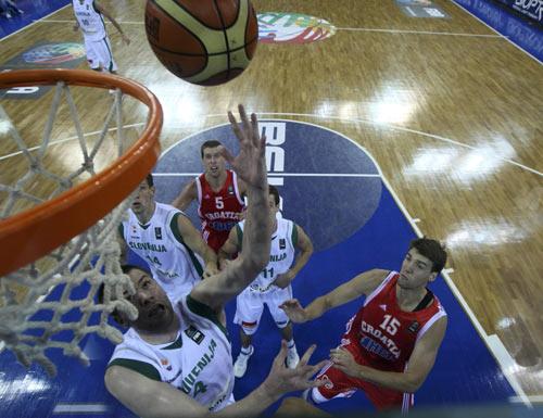图文-[世锦赛]斯洛文尼亚91-84克罗地亚谁也别抢