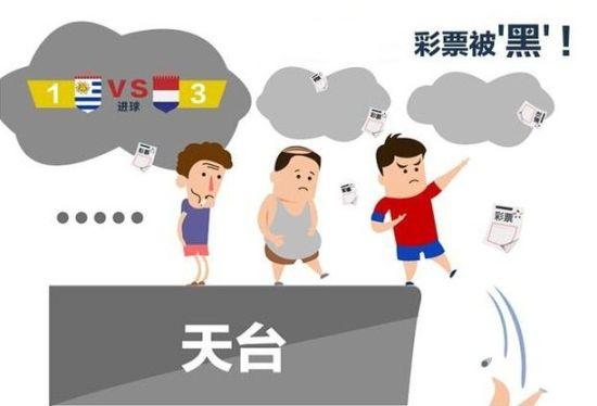 彩市网友悲?69%彩票脸捂手四表情包只称世界杯买世界赔钱_彩图片