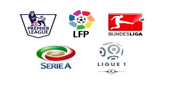 五大联赛标识