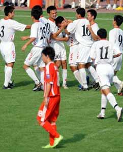 国青热身赛0比1不敌朝鲜宿茂臻直言训练缺乏系统