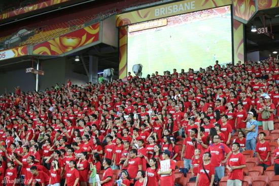 中国红闪耀亚洲杯