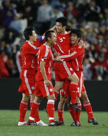 图文-[世预赛]澳大利亚VS中国队国足还没有放弃