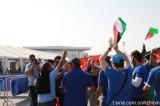 科威特球迷赛前示威