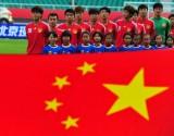 中国队员在入场仪式上