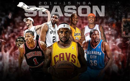 新赛季,各位巨星即将再次踏上征程
