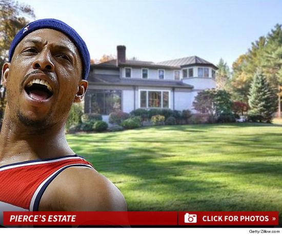 皮尔斯赔本卖掉波士顿豪宅