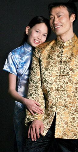 李东华16年浪漫异国情缘宝贝女儿想当瑞士小姐(图)