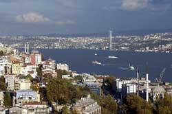 北京奥运火炬传递之伊斯坦布尔连接欧亚大陆的纽带