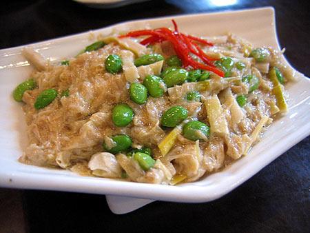 宁夏中卫美食之素菜豆腐:味道鲜美一道上等素菜