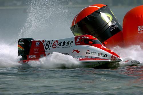后奥运时代弘扬水上运动F1摩托艇比赛迎新篇章