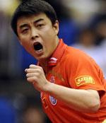 中国内战王皓4比1胜马龙首次晋级世乒赛男单决赛