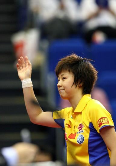 张怡宁:最佳水平胜最强对手冠军另有最特别意义