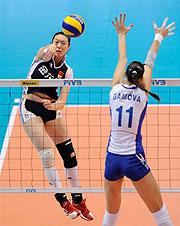 中国女排1比3惨遭俄罗斯逆转大奖赛总决赛三连败