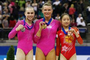 世锦赛女子全能美国包揽金银杨伊琳重大失误仅第6