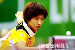 世乒赛中国3-0克罗地亚两连胜李晓霞意外丢一局
