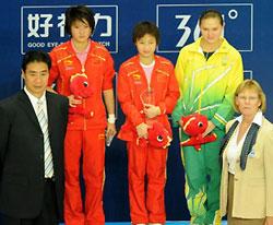 跳水世界杯小将力压陈若琳折桂满分跳技惊四座