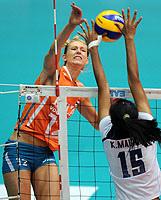 女排大奖赛新科亚洲冠军连遭逆转荷兰完胜赢开门红