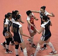 大奖赛-王一梅爆发中国女排逆转荷兰3战全胜夺冠