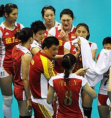 亚洲杯-中国女排3-0完胜中亚劲旅赢小组赛两连胜