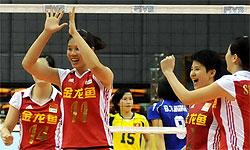 亚洲杯-中国女排3-0完胜晋级四强半决赛将战日本