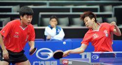 世乒赛-中国3对混双进第三轮郝帅/木子4-0轻取