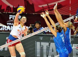 女排大奖赛中国2-3负意大利第8名收官创最差战绩
