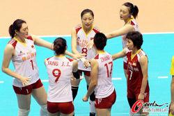 亚锦赛中国女排3-0越南进4强确保奥运资格赛资格