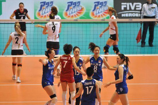 中国女排直接进军伦敦奥运会
