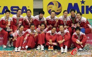 女排大奖赛中国3-1胜泰国三战三捷夺澳门站冠军