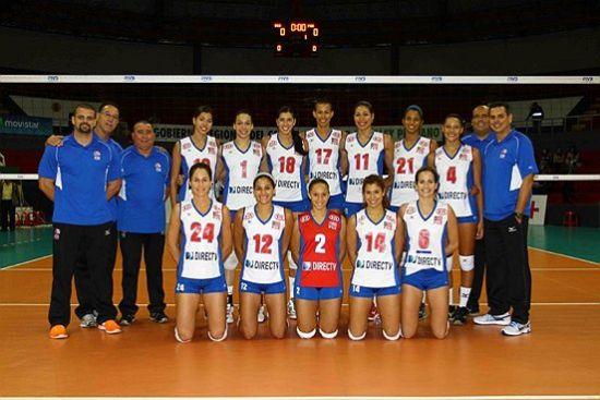 波多黎各女排全家福(图片来源:FIVB网站)